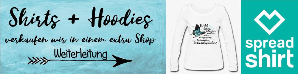 T-Shirts + Hoodies für Damen