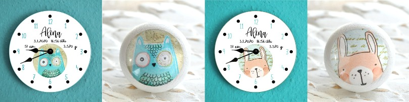 Geburtsdatenuhren