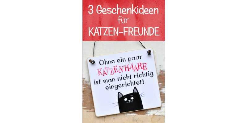 3 Geschenkideen für Katzenfreunde - 3 Geschenkideen für Katzenfreunde