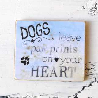 Magnet DOGS leave PAW PRINTS on your HEART