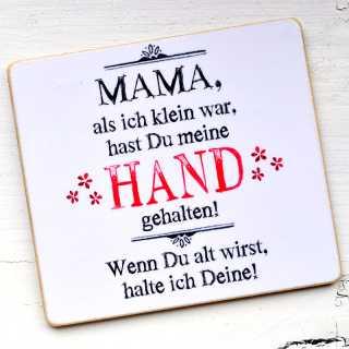 Magnet MAMA Hände halten Muttertagsgeschenk