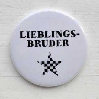 Button Magnetflaschenöffner LIEBLINGSBRUDER