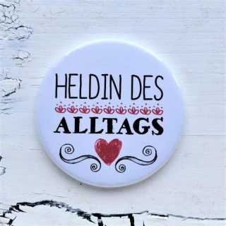 Button Magnetflaschenöffner HELDIN des ALLTAGS