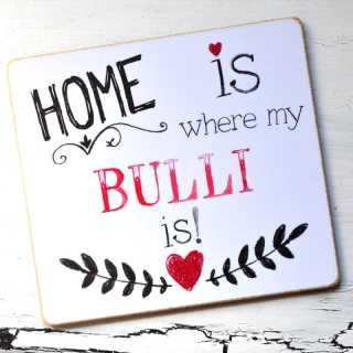 Magnet HOME is where my BULLI is