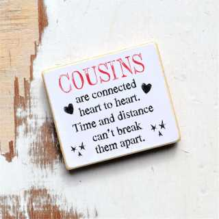 Magnet COUSINS are connected HEART to HEART