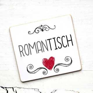 Hochzeit Tischnamen-Schild romanTISCH