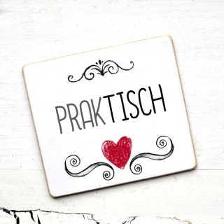 Hochzeit Tischnamen-Schild PRAKTISCH