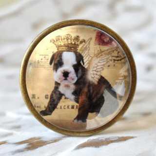 Flaschenkorken DOG mit Krönchen-Tiermotiv ANIMAL CROWNS