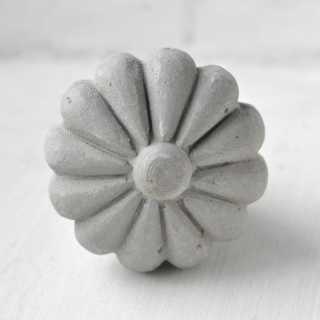 Möbelknopf BETON FLOWER (3,8 cm)