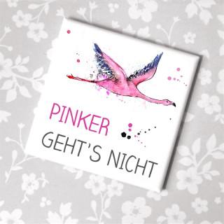 Flamingo Kühlschrankmagnet Pinker gehts nicht