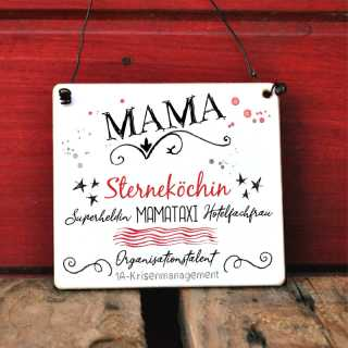 Mama-Schild für Muttertag und andere Anlässe