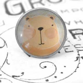 Kinder Möbelknopf mit Tiermotiv fürs Kinderzimmer Hamster