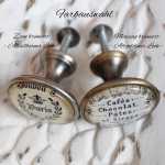 Möbelknauf Metallknauf Schneiderpuppe Paris Vert