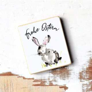 Magnet mit Spruch Frohe Ostern