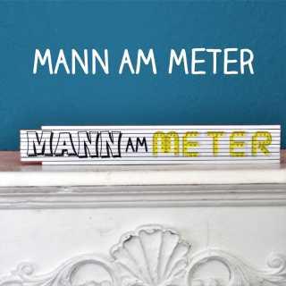 Zollstock Mann am Meter