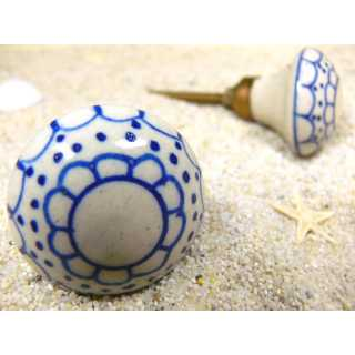 Möbelknopf aus Keramik (3,4 cm) GRANNY