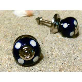 Möbelknopf SMALL DOT (3 cm) dunkelblau Gall & Zick