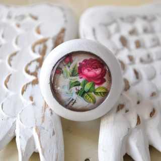 Möbelknöpfe von Shabbyflair Country Rose