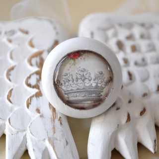 Shabby Chic Möbelknauf Krönchen von Shabbyflair