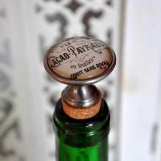 Vintage Flaschenkorken Weinverschluss CACAO PAYRAUD