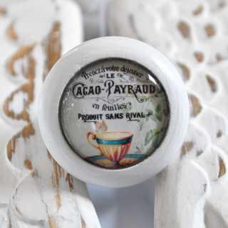 Möbelknopf CACAO PAYRAUD GOLDEN CUP von Shabbyflair
