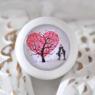 Möbelknopf TREE OF LOVE von Shabbyflair