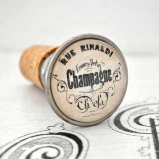Vintage Flaschenkorken Weinkorken Flaschenverschluss Champagne