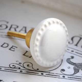 Vintage Möbelknopf GRANDMA ROUND im Shabby Chic (3,7 cm)