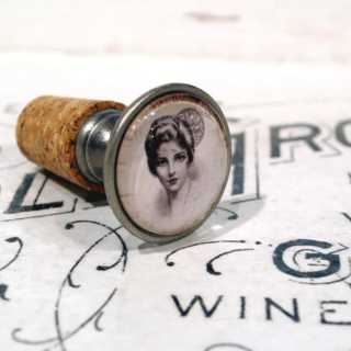Vintage Flaschenkorken VINTAGE LADY JEANETTE