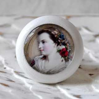 Möbelknöpfe Vintage Lady Modell ROSELLA