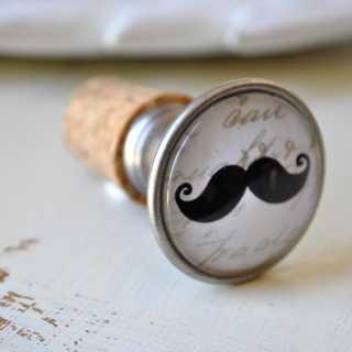 Moustache Flaschenkorken HENRY