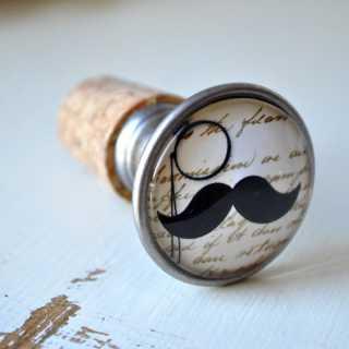 Moustache Flaschenkorken CHARLY