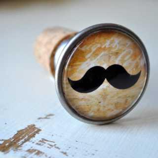 Moustache Flaschenkorken ROBERT