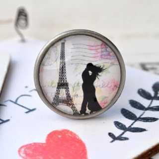 Möbelknöpfe LOVE in PARIS Metallknauf LAMOUR
