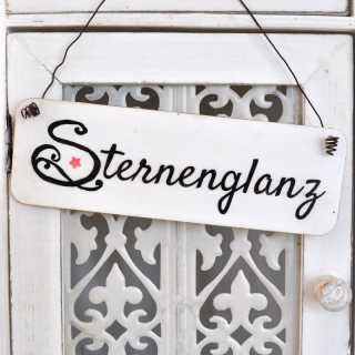 Dekoschild STERNENGLANZ