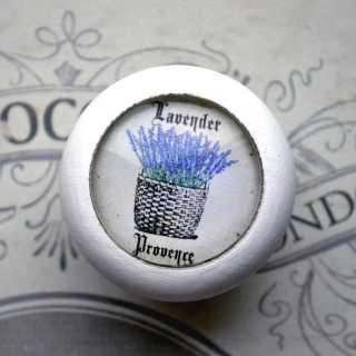 Lavendel-Möbelknauf LAVENDER PROVENCE