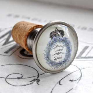 Vintage Flaschenkorken LES FLEURS DE LAVANDE