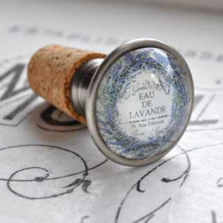 Vintage Flaschenkorken EAU DE LAVANDE