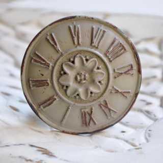 Knauf ROMAN CLOCK grau im USED LOOK (4,5 cm)