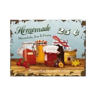 HOMEMADE Marmalade Magnet Kühlschrankmagnet 6x8 cm