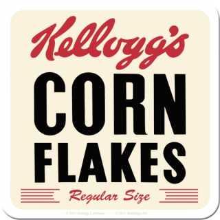 Kelloggs Cornflakes RETRO Metall-Untersetzer