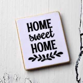 Magnet Kühlschrankmagnet HOME SWEET HOME